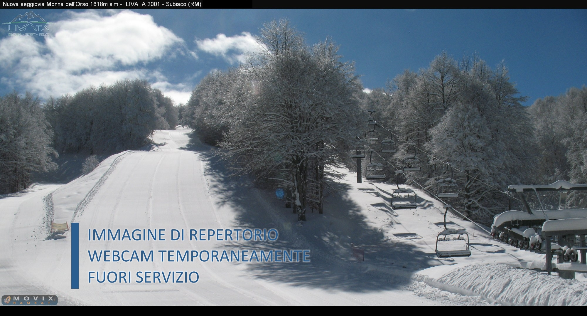 Webcam Monte Livata